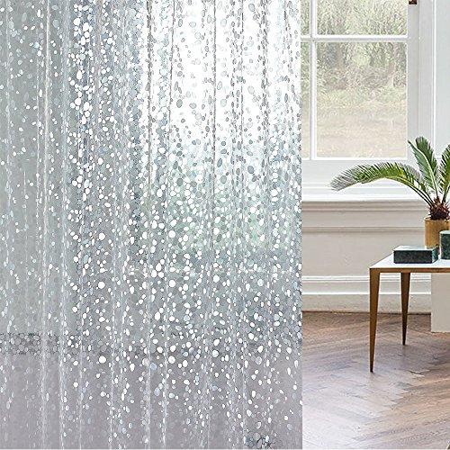 Shower Curtains That Won T Mildew.Adwaita Heavy Duty Eva Plastic Mildew Fre New 3d Water Cube Clear
