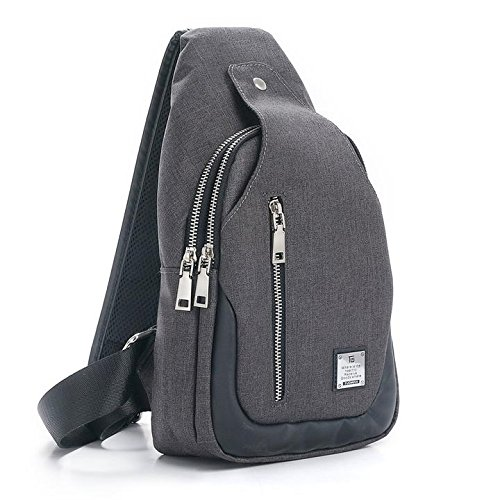 Tuowan sling bag chest shoulder backpack crossbody bags for Men Women Travel  OutdoorsThis sling bag is ... 1040cac7a0813